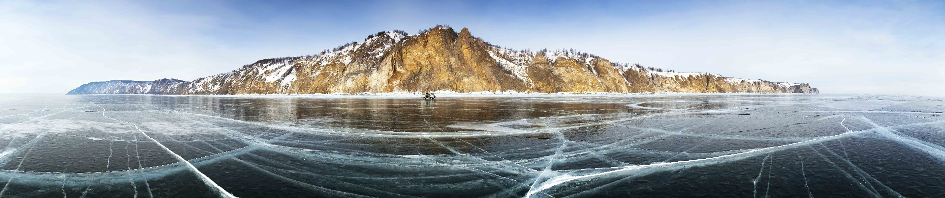Russian Christmas at Lake Baikal