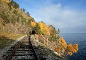 Moscow To The Pacific Ocean by Public Trains