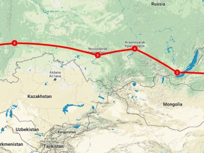 Complete Trans-Siberian Journey by Public Trains Vladivostok to Moscow